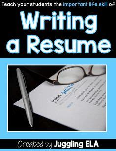 High School Student Resume Samples Youth Central